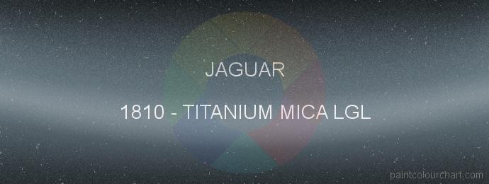 Jaguar paint 1810 Titanium Mica Lgl