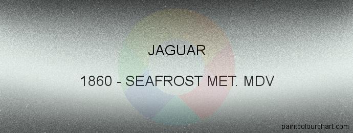 Jaguar paint 1860 Seafrost Met. Mdv