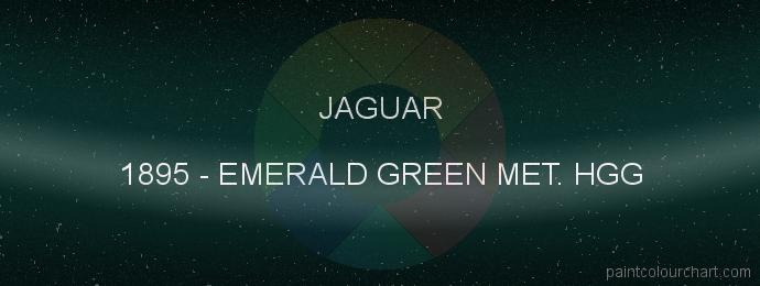 Jaguar paint 1895 Emerald Green Met. Hgg