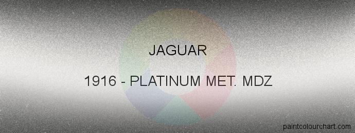 Jaguar paint 1916 Platinum Met. Mdz