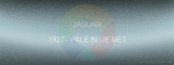 Jaguar paint 1927 Pale Blue Met.