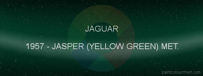 Jaguar paint 1957 Jasper (yellow Green) Met.