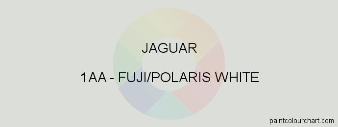 Jaguar paint 1AA Fuji/polaris White