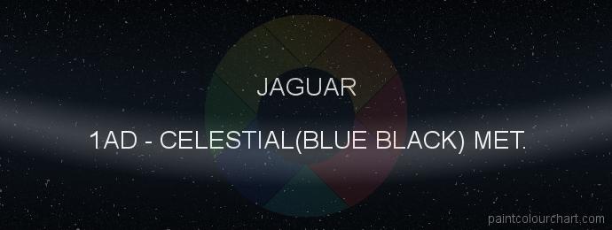 Jaguar paint 1AD Celestial(blue Black) Met.