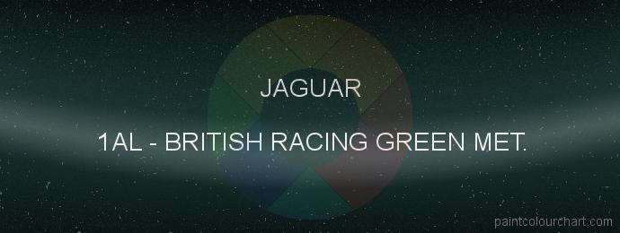 Jaguar paint 1AL British Racing Green Met.