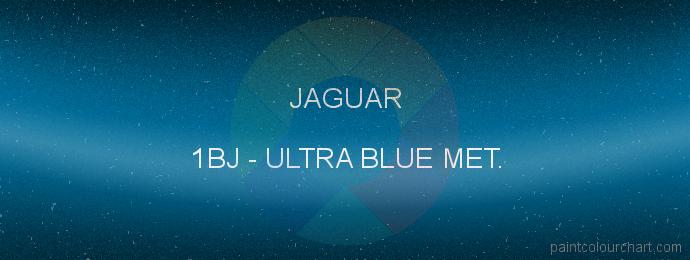 Jaguar paint 1BJ Ultra Blue Met.