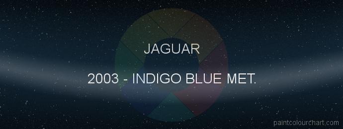 Jaguar paint 2003 Indigo Blue Met.