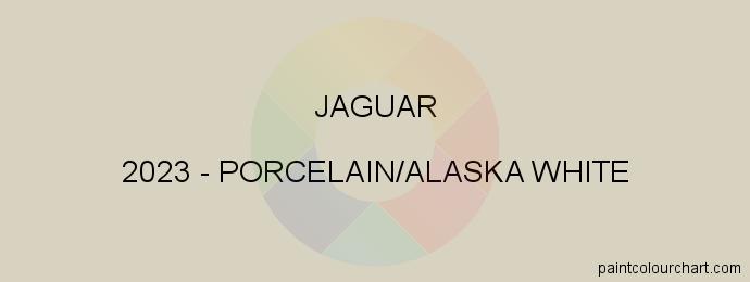 Jaguar paint 2023 Porcelain/alaska White