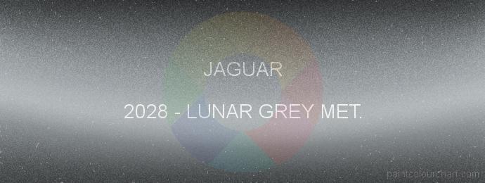 Jaguar paint 2028 Lunar Grey Met.