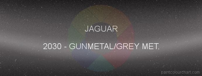 Jaguar paint 2030 Gunmetal/grey Met.