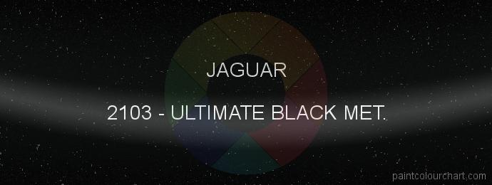 Jaguar paint 2103 Ultimate Black Met.