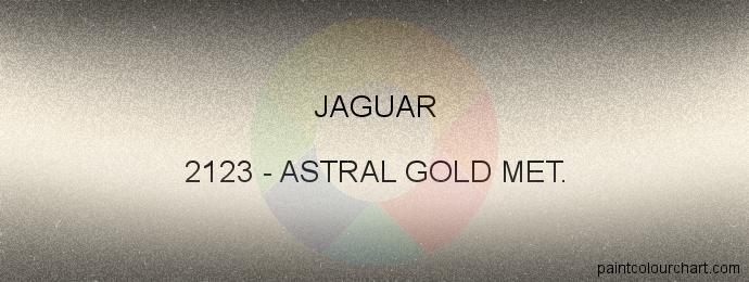 Jaguar paint 2123 Astral Gold Met.