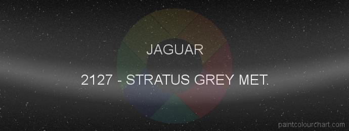 Jaguar paint 2127 Stratus Grey Met.