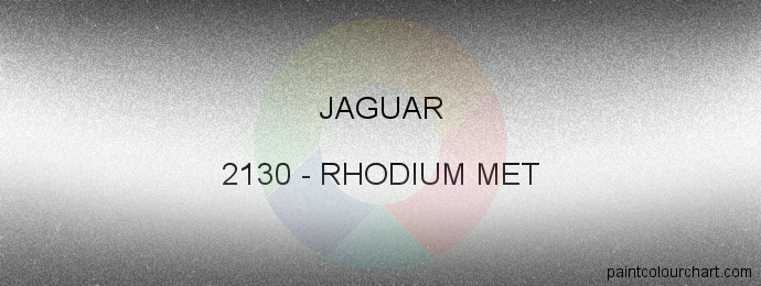 Jaguar paint 2130 Rhodium Met