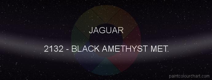 Jaguar paint 2132 Black Amethyst Met.