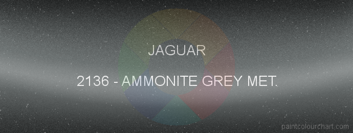 Jaguar paint 2136 Ammonite Grey Met.