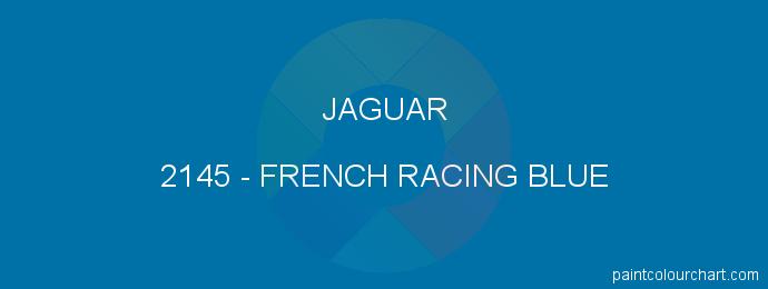 Jaguar paint 2145 French Racing Blue