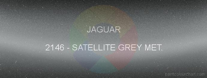 Jaguar paint 2146 Satellite Grey Met.