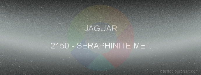 Jaguar paint 2150 Seraphinite Met.