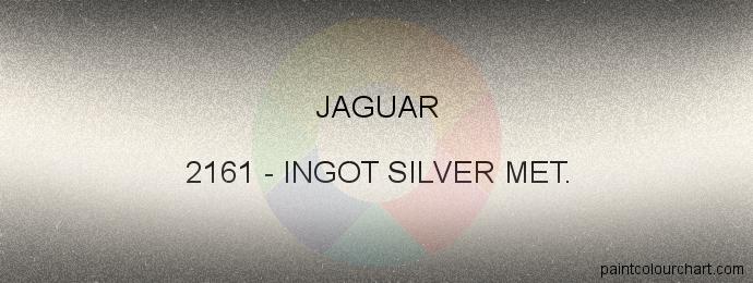 Jaguar paint 2161 Ingot Silver Met.