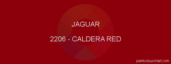 Jaguar paint 2206 Caldera Red