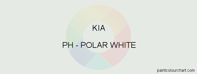 Kia paint PH Polar White