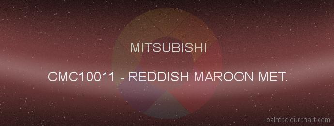 Mitsubishi paint CMC10011 Reddish Maroon Met.
