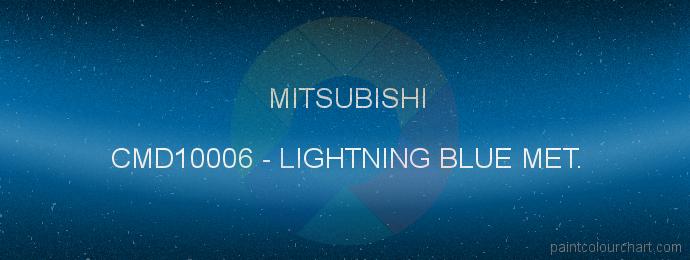 Mitsubishi paint CMD10006 Lightning Blue Met.