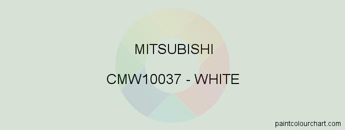 Mitsubishi paint CMW10037 White