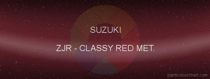 Suzuki paint ZJR Classy Red Met.