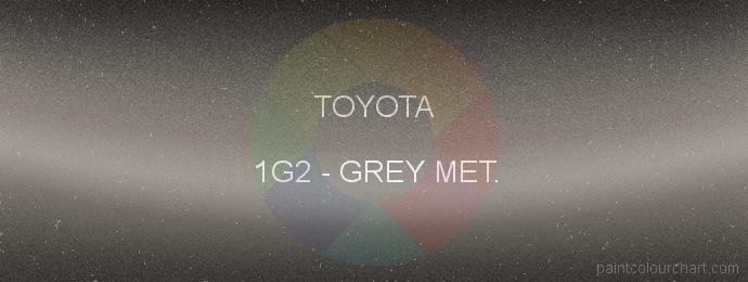 Toyota paint 1G2 Grey Met.
