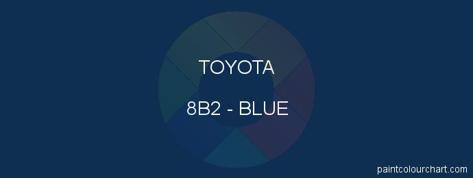 Toyota paint 8B2 Blue