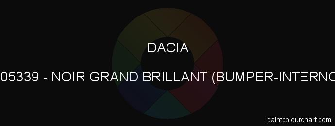 Dacia paint 205339 Noir Grand Brillant