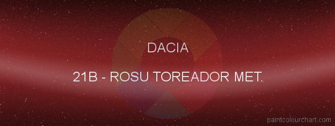 Dacia paint 21B Rosu Toreador Met.