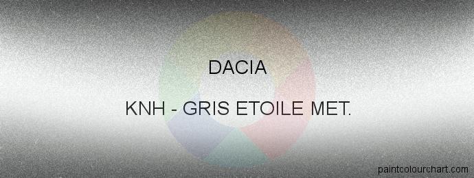 Dacia paint KNH Gris Etoile Met.