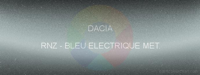 Dacia paint RNZ Bleu Electrique Met.